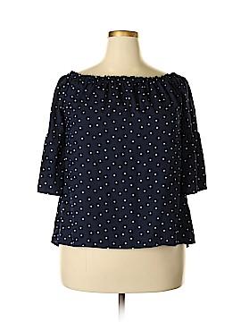 Kensie 3/4 Sleeve Blouse Size XL