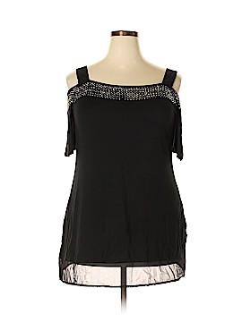 Belldini Short Sleeve Top Size 1X (Plus)