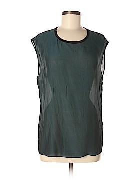 Helmut Lang Sleeveless Silk Top Size L