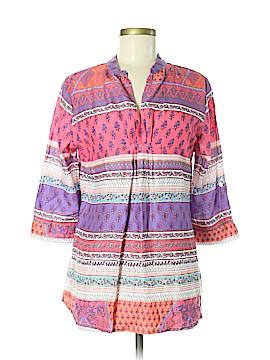 Liza Byrd 3/4 Sleeve Blouse Size M