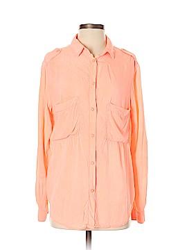 Sam & Lavi Long Sleeve Button-Down Shirt Size S