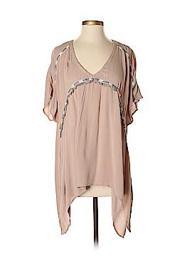Kori America Short Sleeve Button-Down Shirt Size S