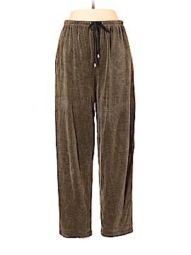 Chaus Velour Pants Size L (Petite)