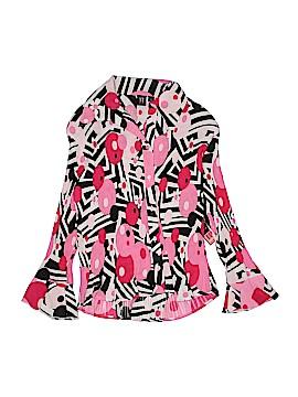 Milano Long Sleeve Button-Down Shirt Size L