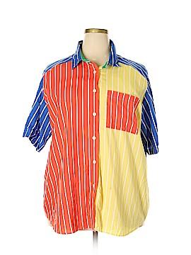 Koret Short Sleeve Button-Down Shirt Size 2X (Plus)