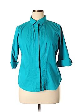 Worthington 3/4 Sleeve Blouse Size XL (Petite)