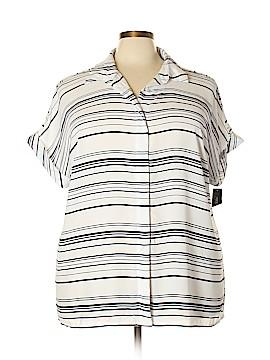 Alfani Short Sleeve Blouse Size 20 (Plus)
