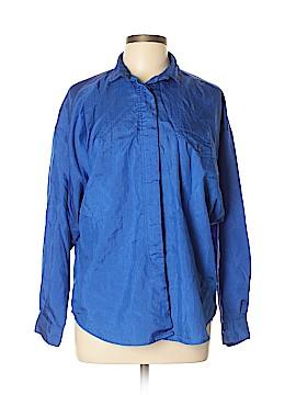 Diane von Furstenberg Long Sleeve Blouse Size L