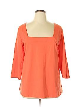 Jessica London 3/4 Sleeve T-Shirt Size 22 - 24 (Plus)