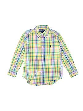 Ralph Lauren Long Sleeve Button-Down Shirt Size 5T