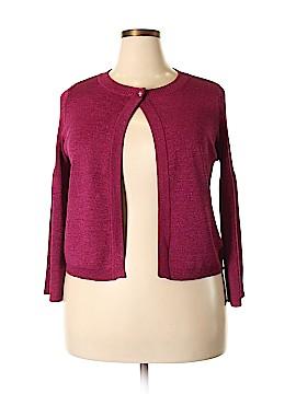 Adrienne Vittadini Cardigan Size 1X (Plus)