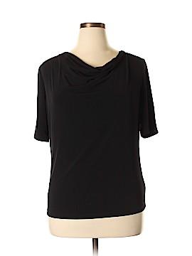 Jones New York Short Sleeve Blouse Size XL