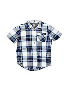 Shaun White Short Sleeve Button-Down Shirt Size 8 - 10