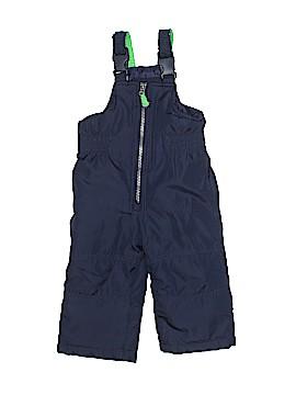 Carter's Snow Pants With Bib Size 12 mo