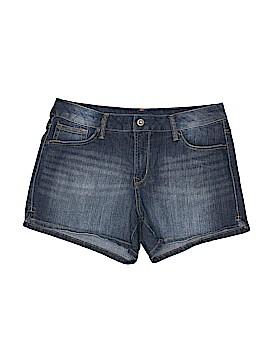 Faded Glory Denim Shorts Size 14