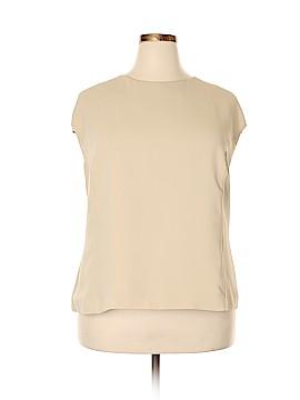 Talbots Short Sleeve Blouse Size 24W (Plus)