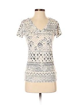 Massimo Dutti Short Sleeve T-Shirt Size XS