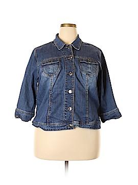 Fashion Bug Denim Jacket Size 22 (Plus)