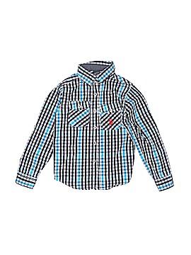 U.S. Polo Assn. Long Sleeve Button-Down Shirt Size 6