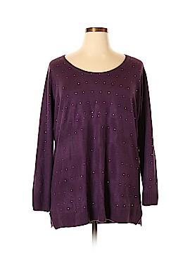 Debbie Morgan Pullover Sweater Size 1X (Plus)