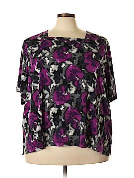 Maggie Barnes Short Sleeve Top Size 3X (Plus)