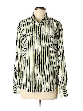 Tory Burch Long Sleeve Button-Down Shirt Size 10