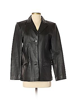 Clio Leather Jacket Size 4