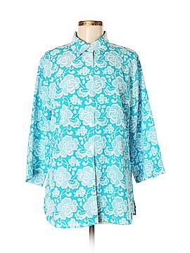 BonWorth 3/4 Sleeve Blouse Size M