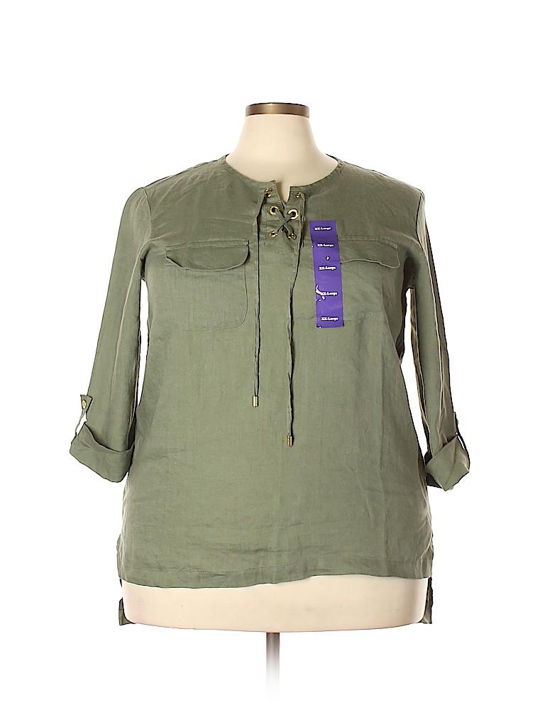 Company Ellen Tracy Women Long Sleeve Blouse Size XXL