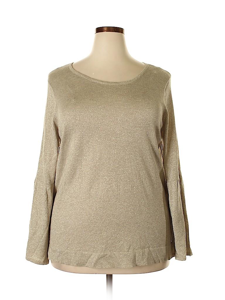 Calvin Klein Women Pullover Sweater Size 2X (Plus)
