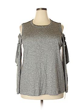 RACHEL Rachel Roy Sweatshirt Size 2X (Plus)