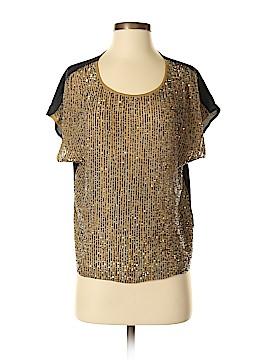 Club Monaco Short Sleeve Silk Top Size XS (Petite)