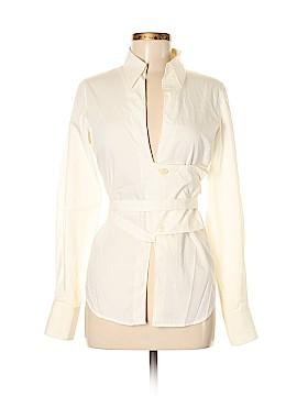 Costume National Long Sleeve Blouse Size 40 (EU)