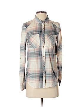 Daytrip Long Sleeve Button-Down Shirt Size XS