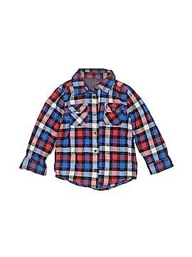 Joe Long Sleeve Button-Down Shirt Size 4T