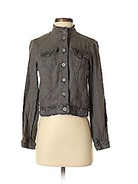 INC International Concepts Denim Jacket Size P (Petite)