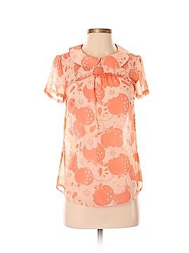 ModCloth Short Sleeve Blouse Size XS