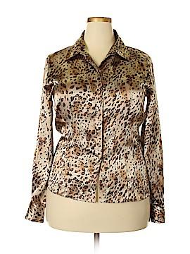 Rafaella Long Sleeve Blouse Size 16