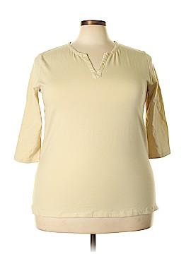 Carolyn Taylor Short Sleeve Top Size 2X (Plus)