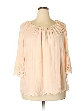 Style&Co 3/4 Sleeve Blouse Size 2X (Plus)