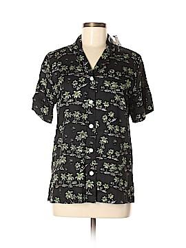 Robert Louis Short Sleeve Button-Down Shirt Size M