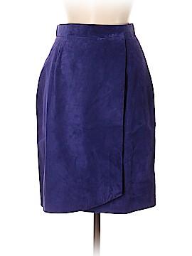 DANIER Leather Skirt Size 8