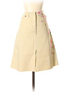 Anthropologie Denim Skirt Size 4