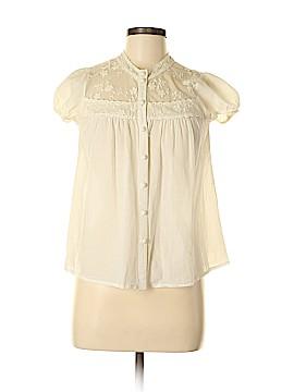 Delia's Short Sleeve Button-Down Shirt Size S