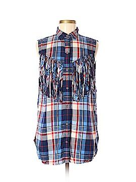 Denim & Supply Ralph Lauren Short Sleeve Blouse Size L