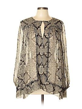 Zimmermann Long Sleeve Silk Top Size Lg (3)