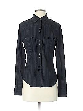 STETSON Long Sleeve Button-Down Shirt Size S