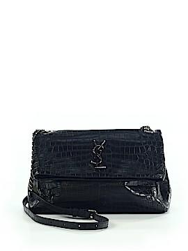 Yves Saint Laurent Leather Crossbody Bag One Size