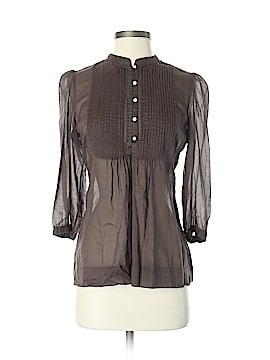 Banana Republic Factory Store 3/4 Sleeve Button-Down Shirt Size S
