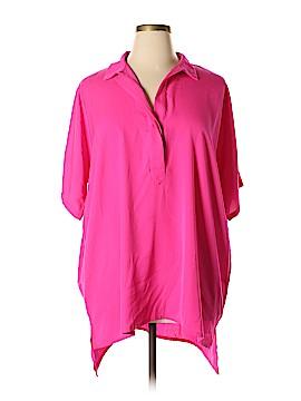 Glamorous Short Sleeve Blouse Size L